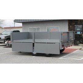 BWise Trailers DDHD12/14/16 Series/Deck Over Dump Trailer/DDHD14-15