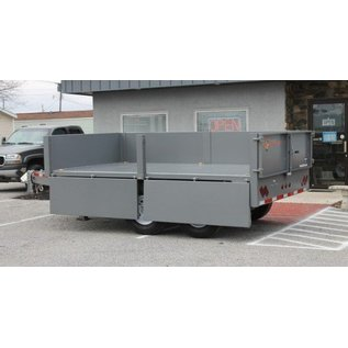 BWise Trailers DDHD12/14/16 Series/Deck Over Dump Trailer/DDHD14-15