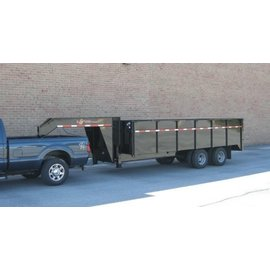 BWise Trailers DDHD16/18/20 Series/23K Deck Over Dump Trailer/DDHD16-23