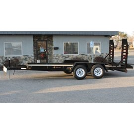 BWise Trailers EA Series/Angle Frame Equipment Hauler/EA16-10