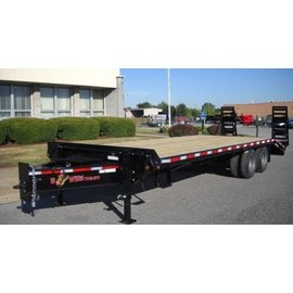 BWise Trailers EDB Heavy Duty Deck Over Series/Equipment Hauler/EDB32-23
