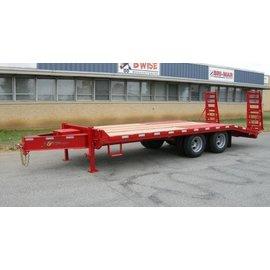 BWise Trailers EDB Heavy Duty Deck Over Series/Equipment Hauler/EDB20-23