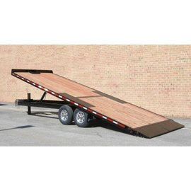 BWise Trailers THD Deck Over Series/Tilt Trailer/THD24-15