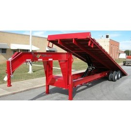 BWise Trailers THD Heavy Duty Deck Over Series/Tilt Trailer/THDB30-23