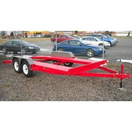 BWise Trailers COD Series/Open Deck Car Hauler/COD16-7