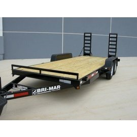 Bri-Mar Trailers EHLE SERIES - EQUIPMENT HAULERS EH18-10LE