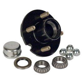 "Dexter Axle 1-1/16"" Bearing, 4 on 4"" Stud Wheel Hub Kit 08-91-90"