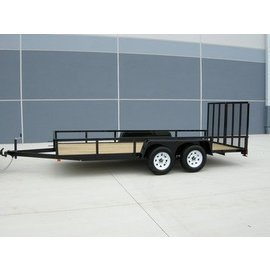 Bri-Mar Trailers UT SERIES - LANDSCAPE TRAILERS UT-716