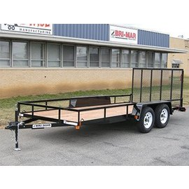 Bri-Mar Trailers UTE SERIES - LANDSCAPE TRAILERS UTE-616