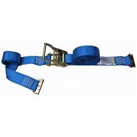 E TRACK RATCHET STRAP - 20 FT (BLUE)
