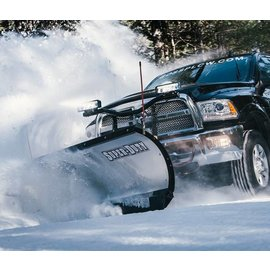 "Boss BOSS 8'0"" Trip Edge Super Duty Stainless Plow"
