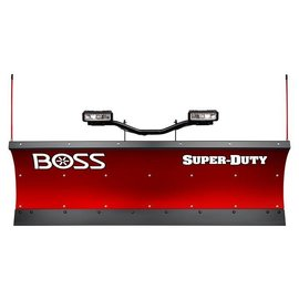 "Boss BOSS 7'6"" Poly Super Duty Straight Plow w/ D-Force"