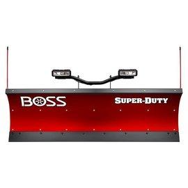 """Boss BOSS 8'0"""" Poly Super Duty Straight Plow w/ D-Force"""