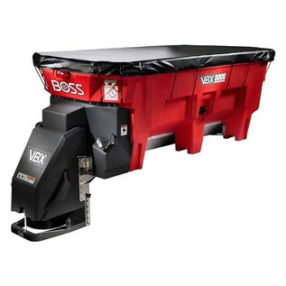 Boss BOSS VBX 8000 - 8' V-Box Spreader, Pintle Chain