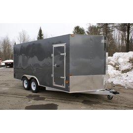 EZ Hauler E-Z Hauler Aluminum/Enclosed Cargo 8 Wide Series/EZEC8x16-IF