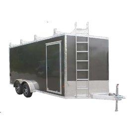 EZ Hauler E-Z Hauler Aluminum/ Ultimate Contractor Package/EZEC 7x14 UCP-IF