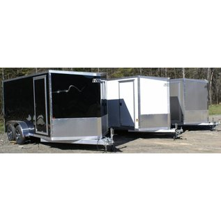 EZ Hauler E-Z Hauler Aluminum/Enclosed Cargo 7 Wide Series/EZEC7x12SA-IF