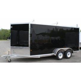 EZ Hauler E-Z Hauler Aluminum/Enclosed Cargo 7 Wide Series/EZEC7x18-IF