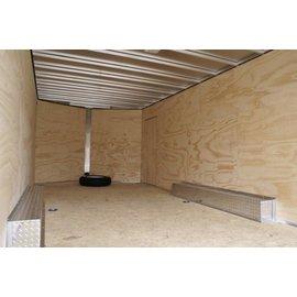EZ Hauler E-Z Hauler Aluminum/Enclosed Cargo 8 Wide Series/EZEC8x20-IF