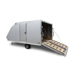 Mission Mission|ENCLOSED SNOW TRAILER|MFS101x14CROSSOVER