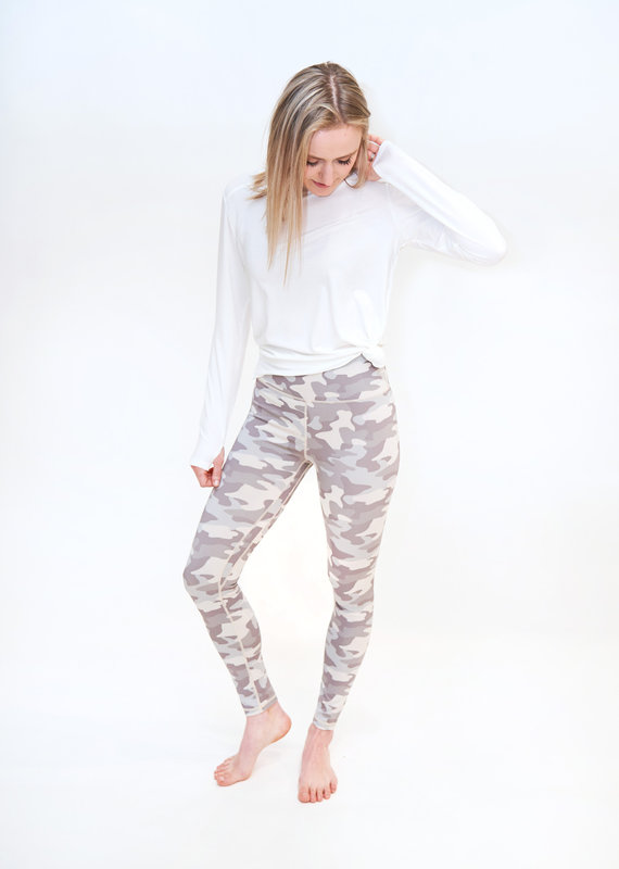 Another Love Another Love Camo Leggings