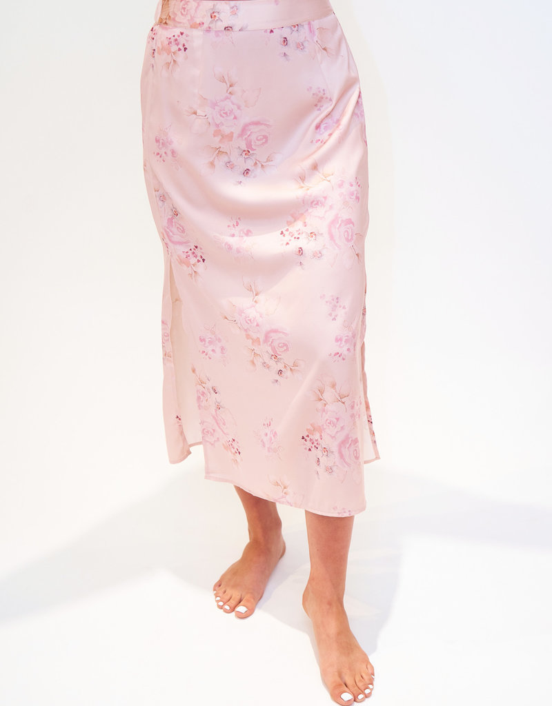 saltwater LUXE Saltwater Luxe Floral Midi Skirt