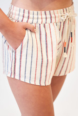 SUNDRY Sundry Striped Natural Short