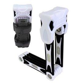 ABUS Abus Bordo 75cm Foldable Lock: White
