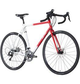All-City All-City 55cm Macho Man Disc GCX Bike Red/White Fade