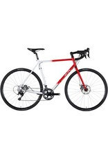 All-City All-City 55cm Macho Man Disc GCX Bike Red/White Fade