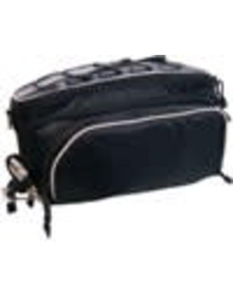 Banjo Brothers Banjo Brothers Rack Top Pannier Bag: Black