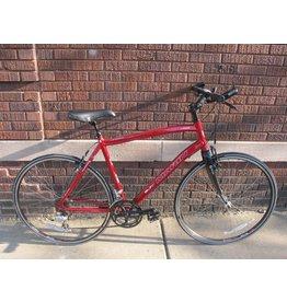 "Used Marin Fairfax Hybrid/Road 20.5"" red"