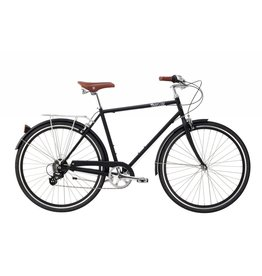 Pure City The Bourbon PLUS + - 5 spd - 54cm Black