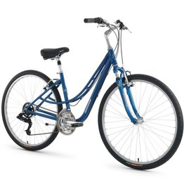 "Torker T510 Bicycle Twin TT 17"" Step Thru Blue"