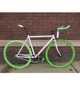 "SOMA Soma Rush White 20"" Single/Fixed Road Bike"