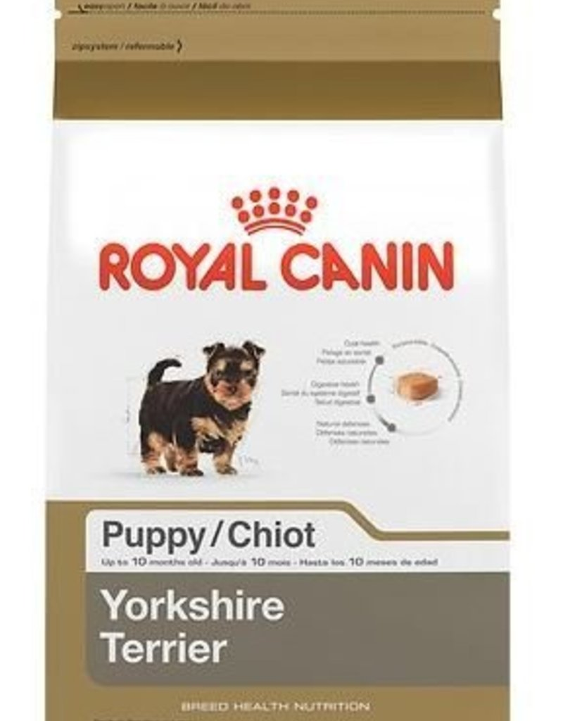 Yorkshire Terrier Puppy Dry Dog Food 2 5 Lb Bag Royal Canin
