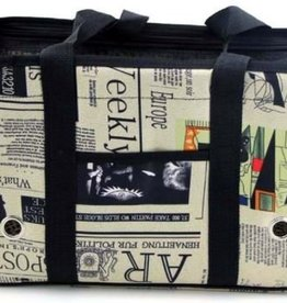 Newspaper Design Luxury Pet Carrier/Travel Bag - Airline Approved.