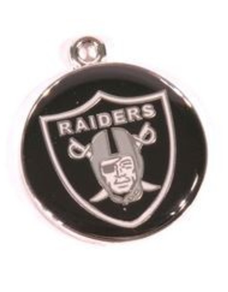 premium selection e8deb 412de NFL Licensed NFL Personalized Custom Made-Engraved ID Tag Oakland Raiders