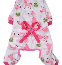 Doggie Pajamas - Jumpsuit: Bow Lace. Size Small