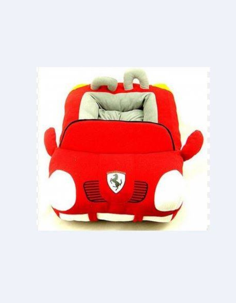 Furrari, Luxury Sports Car Design Small & Medium Dog/Cat Bed House with  Removable Mat  (Dog not for sale)