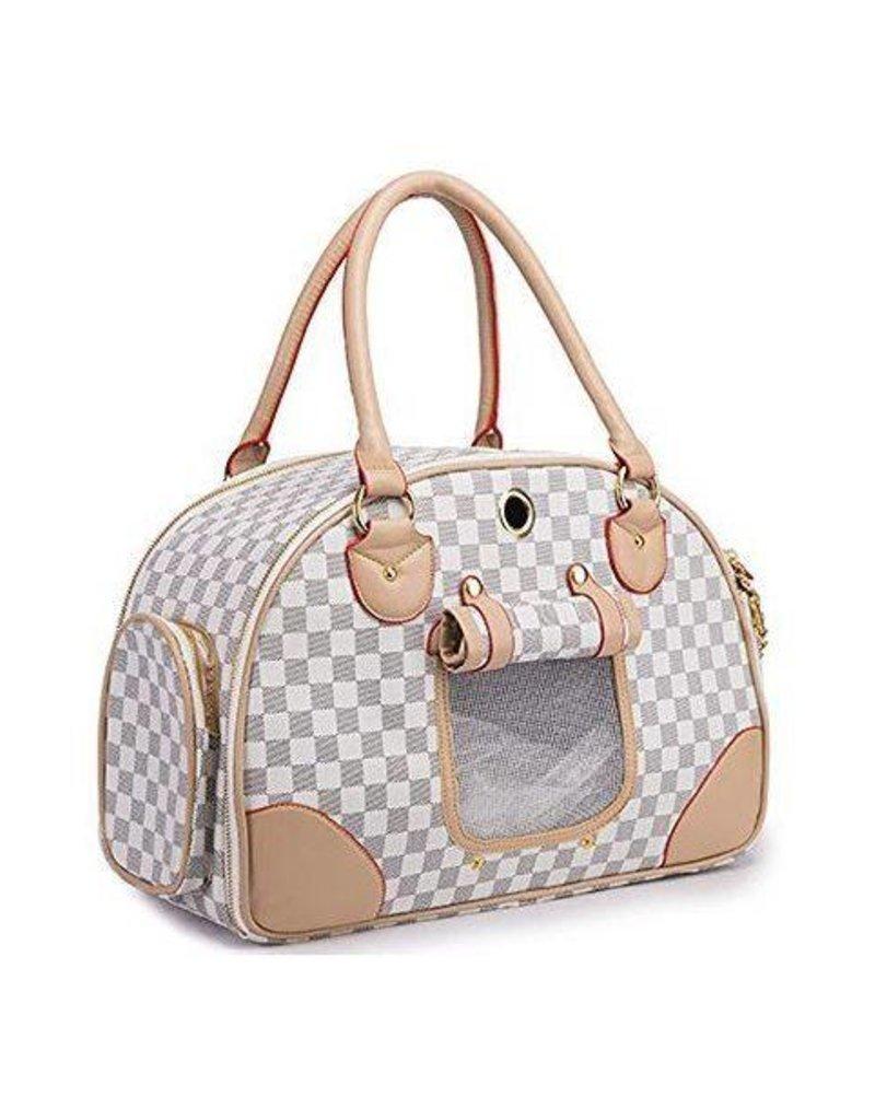 20d451734c2 High Fashion Luxury Dog Carrier PU Leather Dog Handbag Dog Purse Cat Tote  Bag Pet Cat Dog Hiking Bag