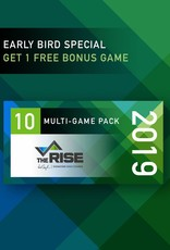 The Rise 2019 10 Game Pack - Early Bird