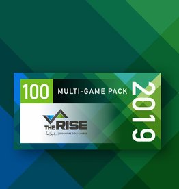 The Rise 2019 100 Game Pack - Early Bird Price