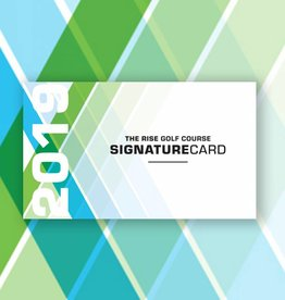 The Rise 2019 Signature Card Pass