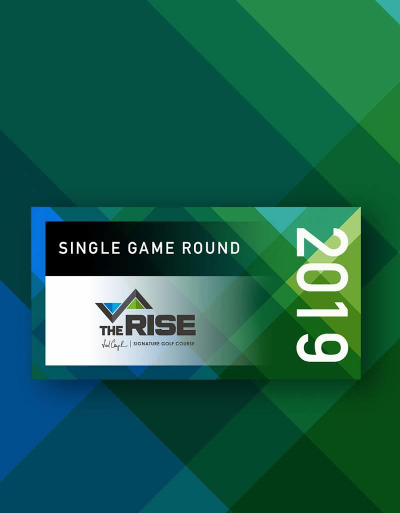 The Rise 2019 Single Round Voucher