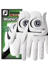 Footjoy Footjoy WeatherSof 2pk Gloves Ladies
