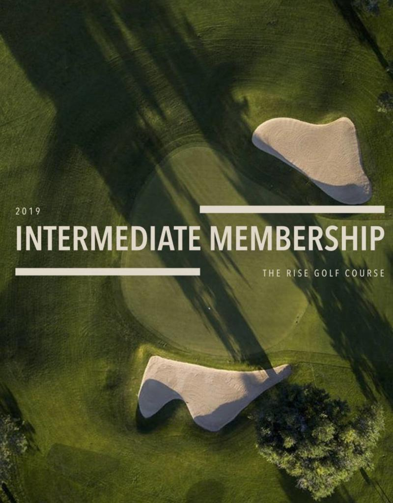 The Rise 2019 Intermediate Membership