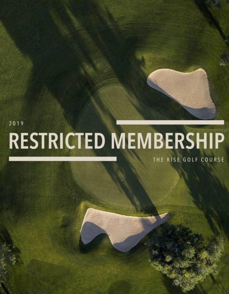 The Rise 2019 Restricted Membership
