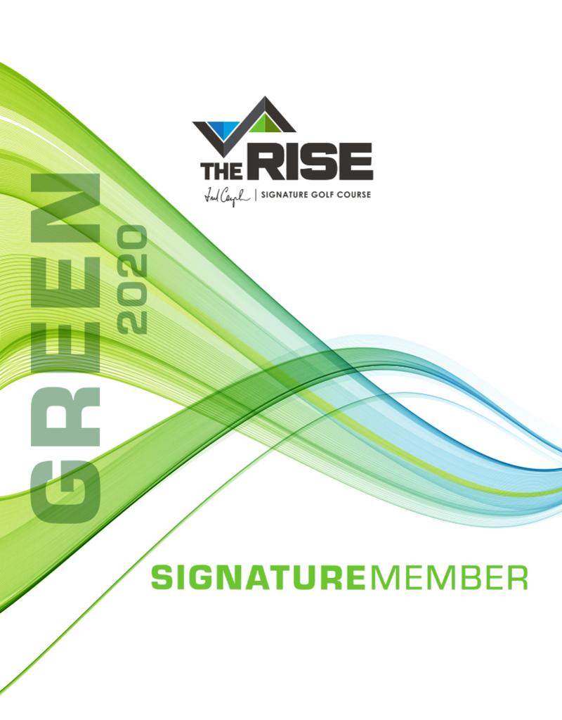 2020 Signature Club Green