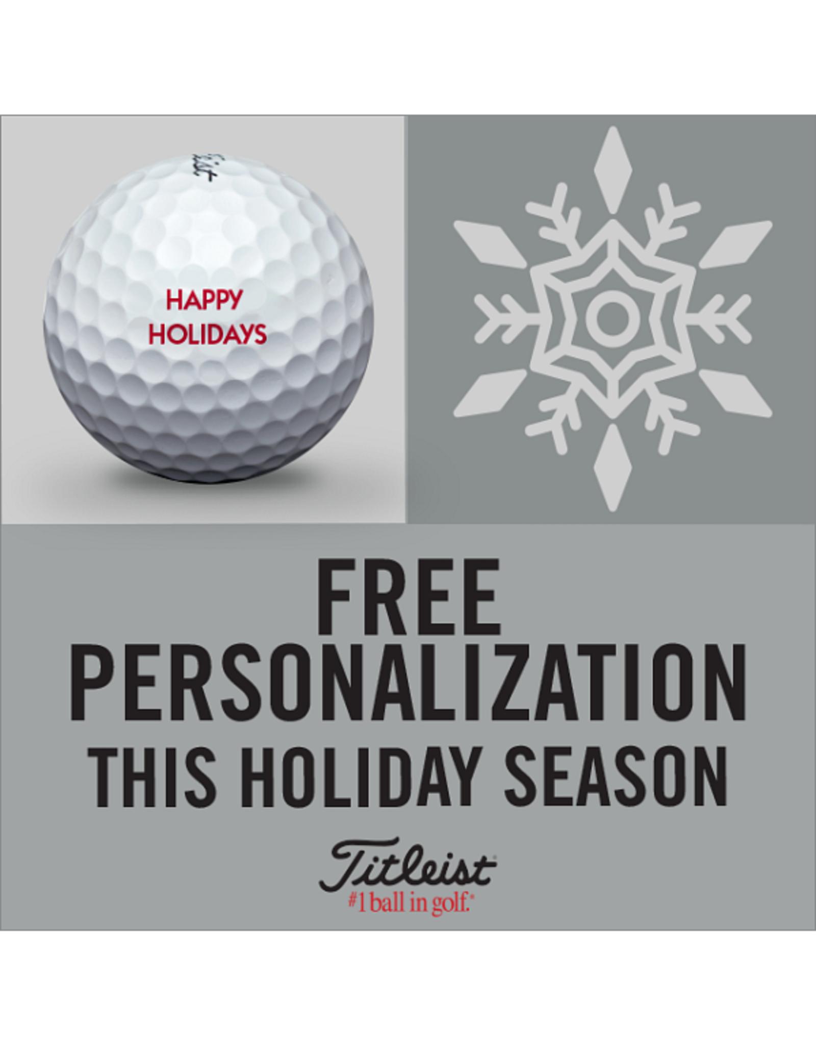 Titleist Titleist Holiday Personalization